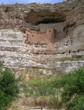 Montezuma Castle Arizona USA