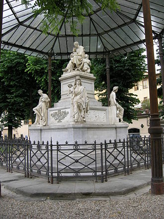 Monument to Nicola Demidoff, Florence - Monument to Nicola Demidoff