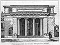 Monumental entrance of the Faculte' de Medecine de Paris. Wellcome L0011402.jpg