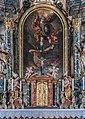 Moosburg Pfarrkirche hl Michael und Georg Hochaltar Oelbild hl Michael 11092016 4167.jpg