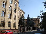 Moscow, Julius Fučík street 12 14, embassy of the Czech Republic.JPG