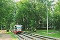 Moscow tram 71-619K 5007 Halturinskaya ul. Yard line. (20649130332).jpg