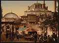 Mosque and street, Scutari, Constantinople, Turkey-LCCN2001699429.jpg