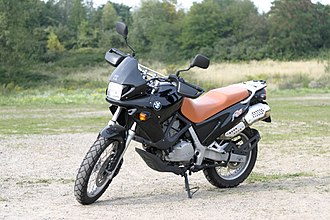 BMW F series single-cylinder - Image: Motorcycle BMW f 650 st 02