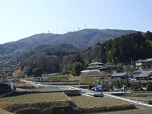 Mount Ikoma - A View of Mt. Ikoma