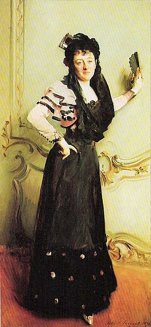 Virginia P. Bacon - Mrs. Walter Bacon (Virginia Purdy Barker), John Singer Sargent, 1896