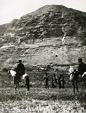 Mount of Temptation - Mt. of Temptation. 1910