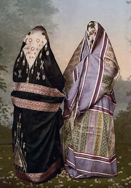 Mulsim-Women holy land bef 1890