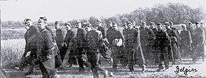 Munster Training Area - Image: Munsterlager – Erster Weltkrieg – Gefangene – Belgier