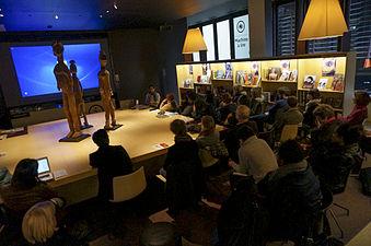 Musée du quai Branly, conférence d'Ismaël Moya 05.jpg