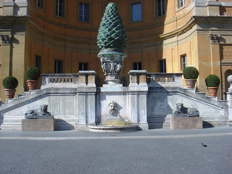 http://upload.wikimedia.org/wikipedia/commons/thumb/5/51/Musei_vaticani_-_cortile_della_pigna_01167.JPG/800px-Musei_vaticani_-_cortile_della_pigna_01167.JPG