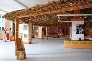 Costa Chica of Guerrero - View inside the Museo de las Culturas Afromestizas