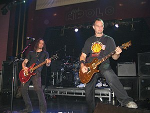 Alter Bridge - Alter Bridge toured extensively in promotion of 2007's Blackbird.
