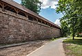 Nürnberg, Stadtbefestigung, Westtormauer, Grabenmauer 20170616 001.jpg
