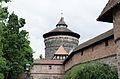 Nürnberg, Stadtmauer, Spittlertorzwinger, Spittlertorturm, 001.jpg