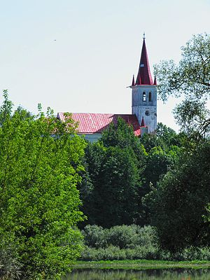 Daugavpils Municipality - Image: Nīcgale church 2