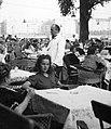 Nő 1942-ben egy vendéglőben. Fortepan 12133.jpg