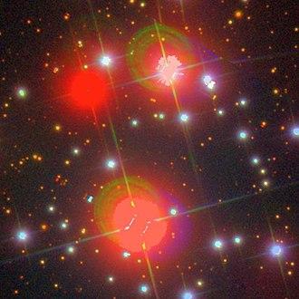 NGC 2129 - SDSS image of NGC 2129