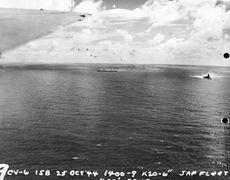 NH 95544 Battle off Cape Engano, 25 October 1944.jpg