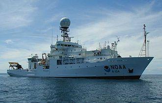 NOAAS Ronald H. Brown (R 104) - Image: NOAA Ship Ronald H. Brown