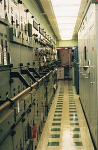 NS Savannah - Transverse Corridor behind Reactor Control Room, Facing Port.jpg