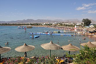 Red Sea Riviera - Naama beach in Sharm El-Sheikh