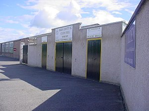 Nairn County F.C. - Image: Nairn County Football Club ground