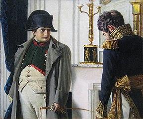 Napoleon and general Lauriston