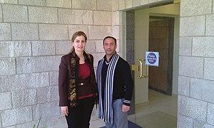 Nariman Abdul Karim - Image: Nareman Abdel Kareem in Modern Language Center, Amman