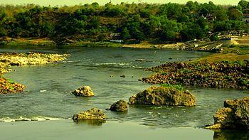 Narmada RIver point.jpg