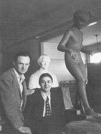 Natan Rapaport Sima Rapaport 1937.jpg