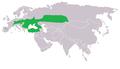 Nausithous eurazja distribution actually mkutera.png