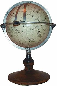 "A French ""navisphere"": a type of celestial globe formerly used for navigation at sea"