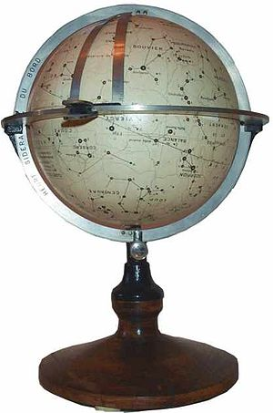 "South Star - A French ""navisphere"": a type of celestial globe formerly used for navigation at sea"