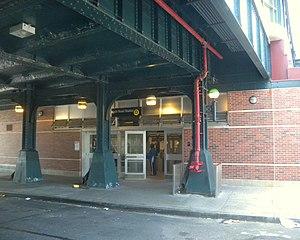 Neck Road (BMT Brighton Line) - Station entrance