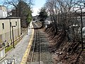 Needham Heights station from Hunnewell Street, March 2016.JPG