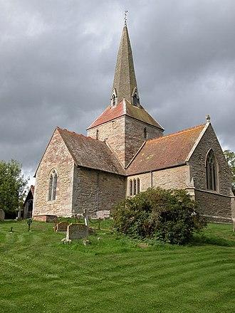Neen Sollars - A photograph of All Saints church