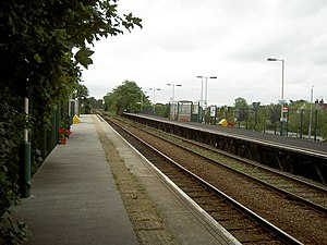 Neston - Neston railway station