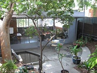Neutra VDL Studio and Residences - View of garden house