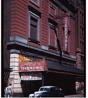 Garrick Cinema former movie theater in Greenwich Village, Manhattan, New York City, United States