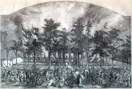 New York Draft Riots Harpers colored asylum