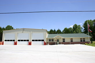 Bella Vista, Arkansas - Fire station off Trafalgar Road