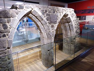 Church of the Annunciation of Our Lady of the Newarke - Image: Newarke church arches DMU heritage centre, Leicester