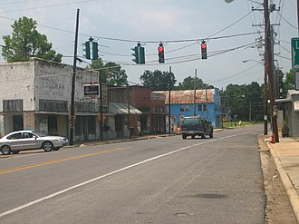 Newellton, Louisiana - Image: Newellton crossroads IMG 1269