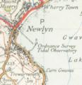 Newlyn Tidal observatory Map 1946.png