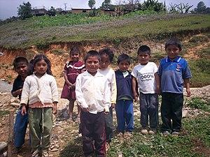 Niños mazatecos