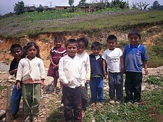 Oaxaca - Mazateco children