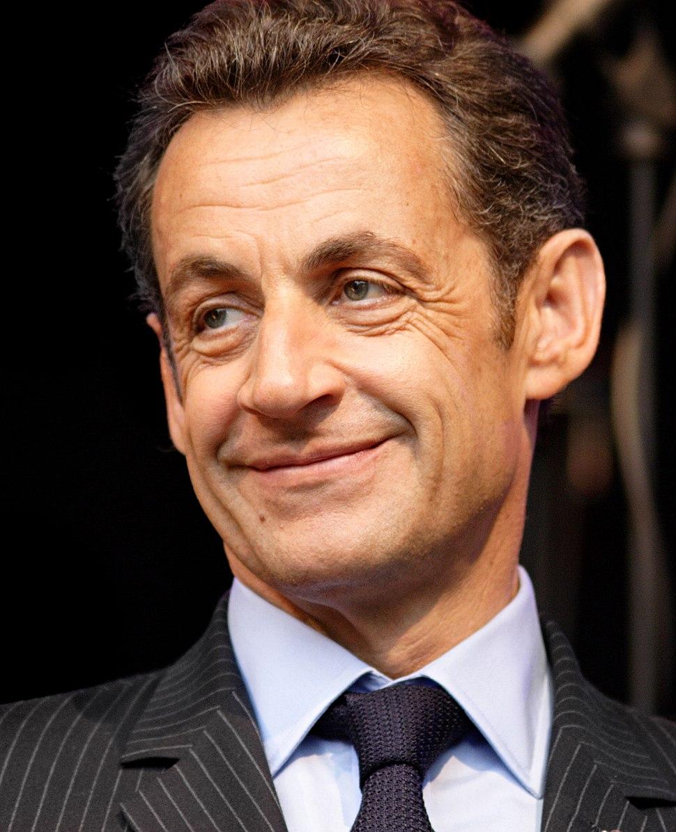 Nicolas Sarkozy (cropped)