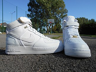 bout en fer air force 1