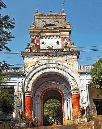 Nilgiri State - Palace gate of the Niligiri Rajas in Nilagiri.